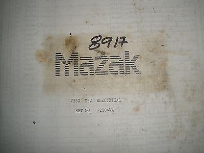 Mazak Vmc Mill V550 Electrical Manual