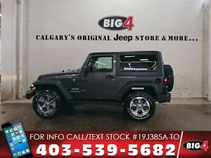 2017 Jeep Wrangler Sport   2 tops   Leather   A/C   LED's