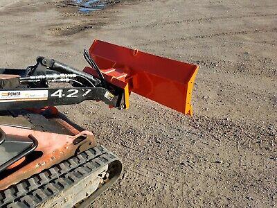 Demo 57 4 Way Dozer Blade Plow For Mini Skid Steer Fits Dingo Style Mount