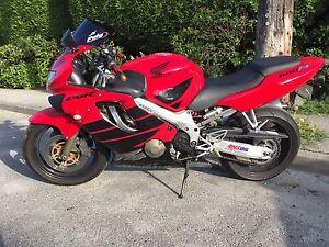Honda CBR 600cc Year 2000