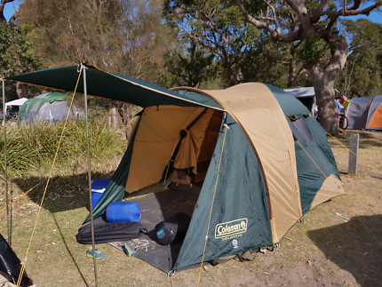 Coleman Overlander 4CV 4berth dome tent & overlander tent | Gumtree Australia Free Local Classifieds