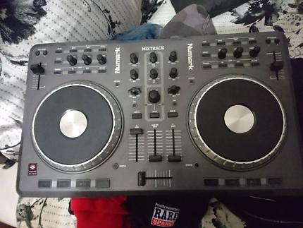Numurk Mixtrak DJ mixer board