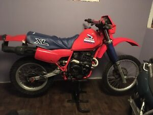 1985 honda xl 600r   ...REDUCED...1200$$