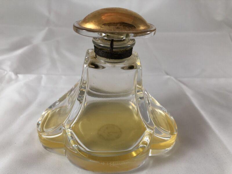 Vintage Baccarat Pour Annick Goutal Eau d'Hadrien 3 Oz. Perfume NOT FULL France