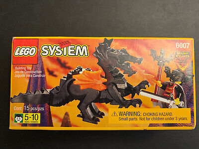 New Sealed Box Vintage Lego set 6007, Fright Knights Bat Lord Dragon 1997