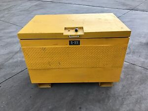 1-11 Heavy Duty Site Box/ Site Safe W-1220mm  x D-760mm  x  H-850mm Hoppers Crossing Wyndham Area Preview