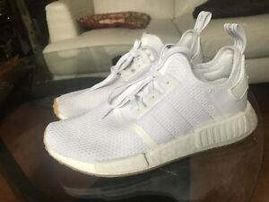 Selling Triple White NMD R1 (Gum outsole) size 8.5