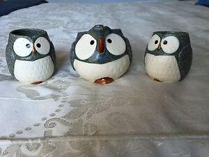 Ceramic Owl tea set Wahroonga Ku-ring-gai Area Preview