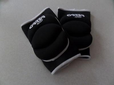 Carta Sports Knee Pads Volleyball/Dance/Work/Football/Goalball Black Medium Gym