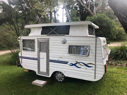 1979 Viscount Pop Top Caravan Katoomba Blue Mountains Preview