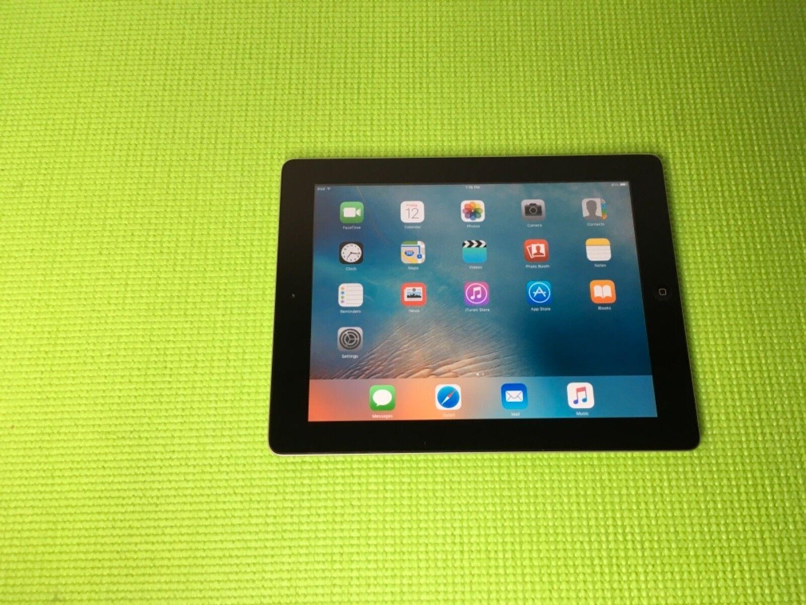 Apple iPad 2 16GB, Wi-Fi, 9.7in - Black Grade D
