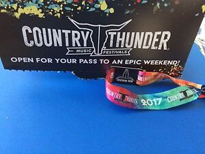Country Thunder - Craven full weekend pass