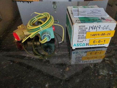 """ASCO 8222G005 3/4"""" NPT 2-Way Steam Solenoid Valve 120VAC"""