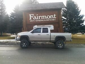 Lifted dodge ram 2500