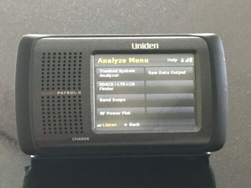 Uniden HomePatrol-2 Touchscreen Scanner with EXTREME UPDATE feature ($75 option)