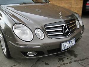 2006 Mercedes-benz E280 CDI 3.0 DIESEL ELEGANCE SUNROOF 163,000 K Heidelberg Heights Banyule Area Preview