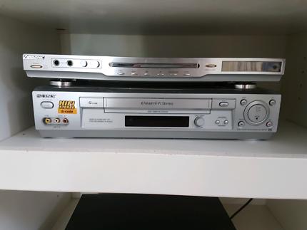 Sony 6 head hifi stereo video cassette recorder