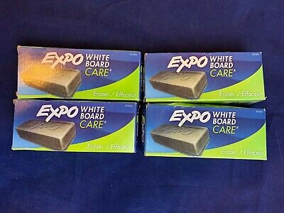 Expo Dry Erase Eraser - Set Of 4 New Open Box - White Board Care  D