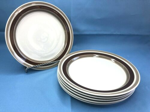 Arabia Pirrti Finland Salad/Luncheon Plates Set of 6! Rare! Mint Condition
