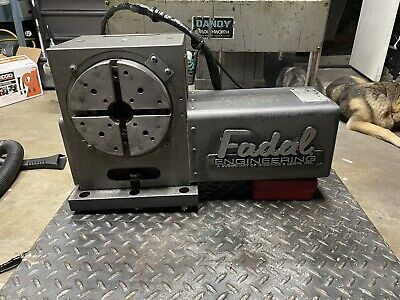 Fadal Rotary Table Cnc 4th Axis