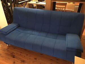 Blue Futon Lounge Pemulwuy Parramatta Area Preview