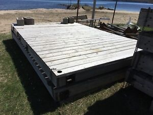 3 pieces of dock for sale $175 each piece