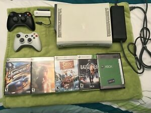 Xbox 360 with games/accessories