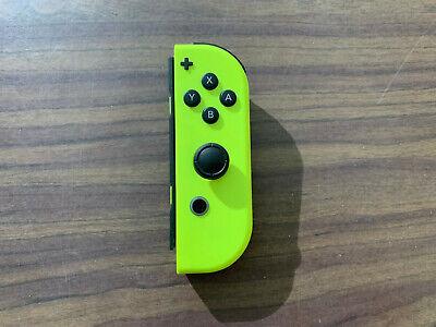 Nintendo Switch Neon Yellow Right Joy Con -- Right Joy-Con --