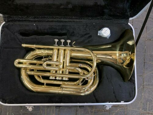 Marching Baritone, with case and mouthpiece, new