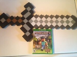 Minecraft Game and Sword