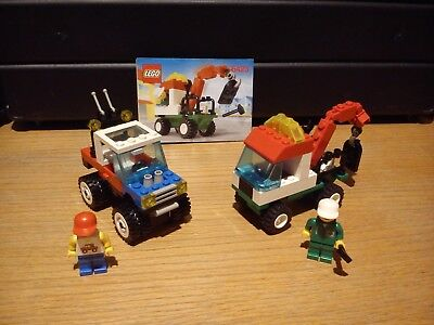 Lego Town Lot 6423 (2000) & 6641 (1987) 100% complet