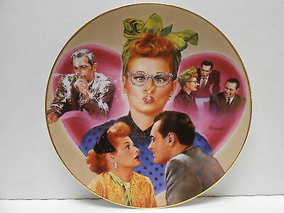 Hamilton Collection Plate 1996 I LOVE LUCY L.A. at Last