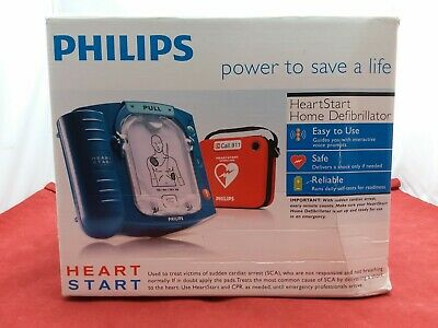 Philips Heartstart Home Defibrillator With Slim Red Carry Case - New