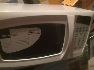 New HomeStyles 0.7 Cu. Ft. White Microwave