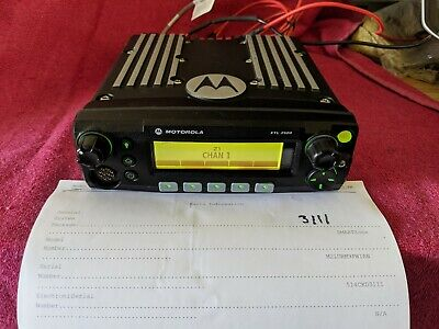 Motorola Xtl 2500 700800 Digital P25 Radio M21urm9pw1an 3111