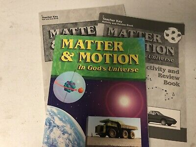 Abeka Matter & Motion Science/physical science Grade 8 Physical Science Motion
