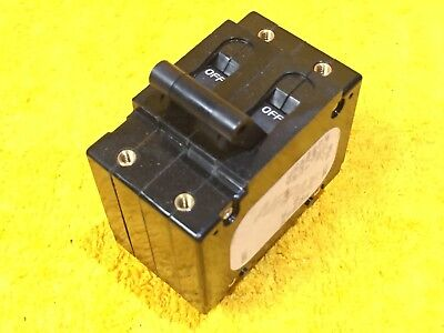 New Airpax Upl11-1-61-153 15 Amp 250 Volt 2-pole Breaker 18.8 Trip Amps