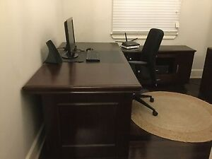 4 Piece Executive Office Suite including Executive chair Homebush Strathfield Area Preview