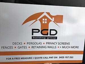 CARPENTRY: New fences, privacy screens, decks, gates, feature walls Albert Park Port Phillip Preview