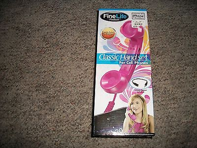 New Fine Life Products Pink Classic Hand Set Cell Phones I Phone (Blackberry Handsets)