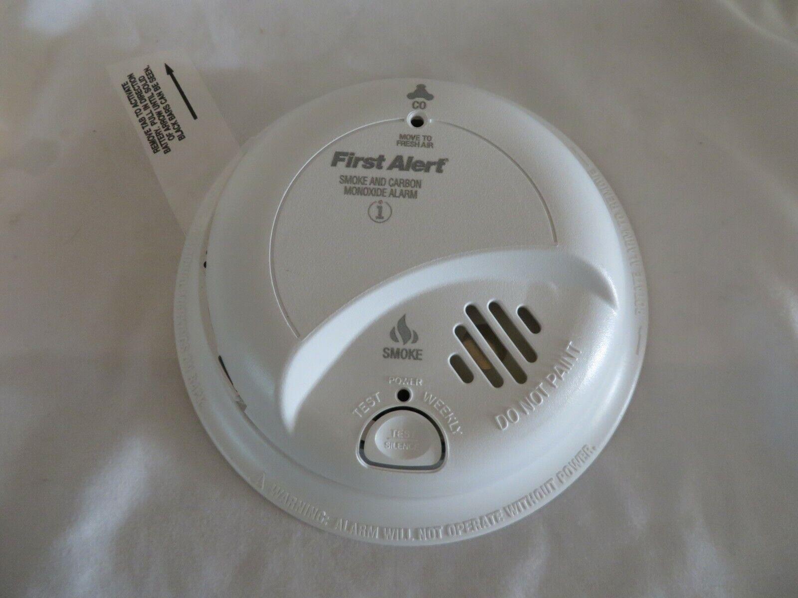 BRK First Alert SC9120B Hardwire Combination Smoke/Carbon Mo