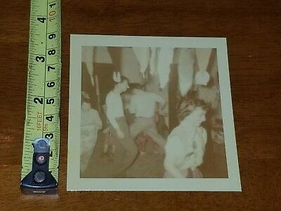 Old Halloween Costume Photos (RARE OLD VINTAGE PHOTO HALLOWEEN PARTY COSTUME DECORATIONS 1952)