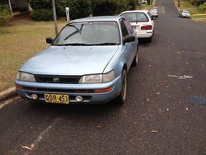 1998 Toyota Corolla Sedan Blaxland Blue Mountains Preview