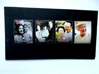 TOLELAU: 2016  Queen's 90th Birthday 4 stamps U/M Sg511/14