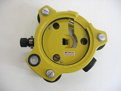 Original Topcon Tribrach F80806 With Optical Plummet For Surveying 1m Warranty