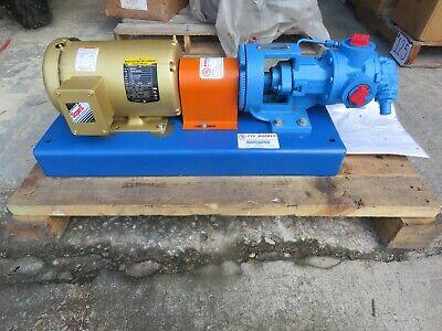Viking Pump H4124a W Baldor Motor Em3554t 1.5 Hp 208-230460 Rpm 1760 New