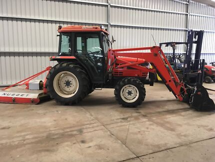 DaeDong DK50c Cab Tractor 50hp 4WD