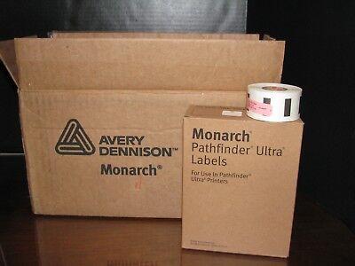 50 Rolls Avery Dennison Monarch Pathfinder Ultra Labels For Printer 402-235