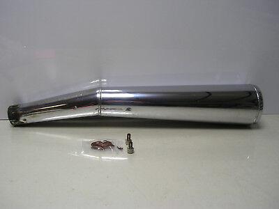 C19 - BMW R100RS monoshock left hand Zeuna silencer BMW pt nr 18121458361