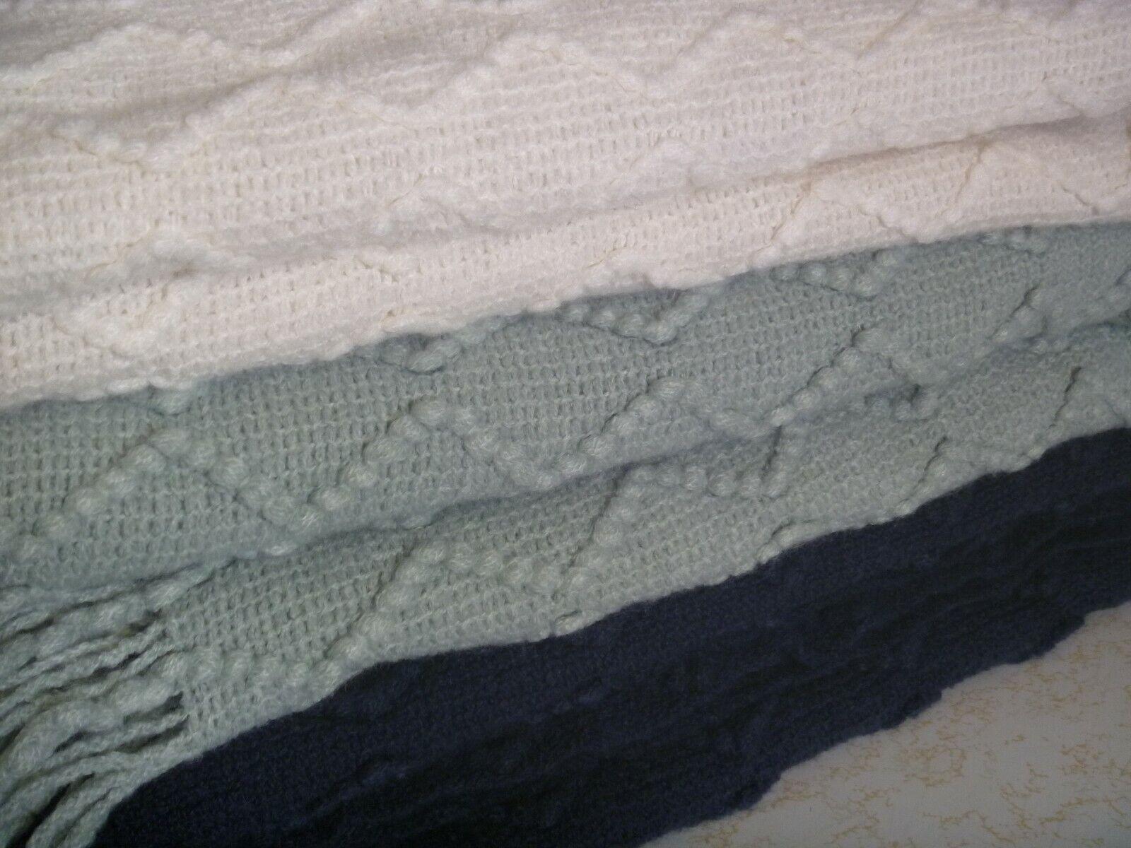 Pottery Barn Porter Throw Blanket  NOS / UNUSED / CHOOSE COL